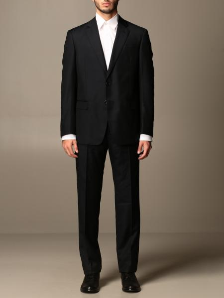 Giorgio Armani: Giorgio Armani classic single-breasted suit in virgin wool