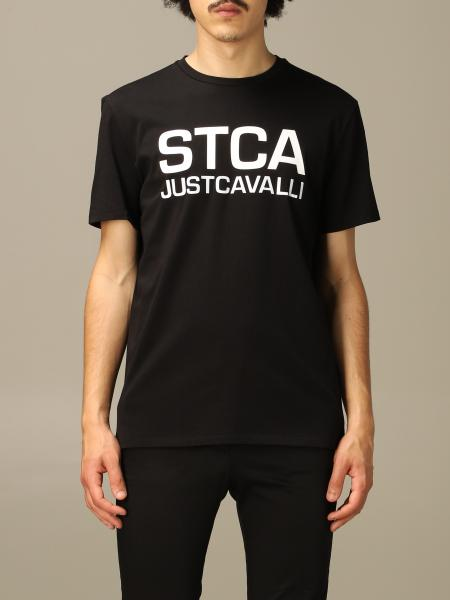 Just Cavalli T-shirt with STCA print