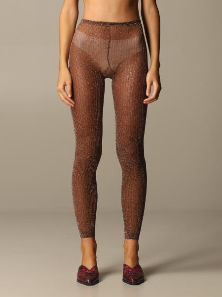 Missoni leggings in stretch lurex knit
