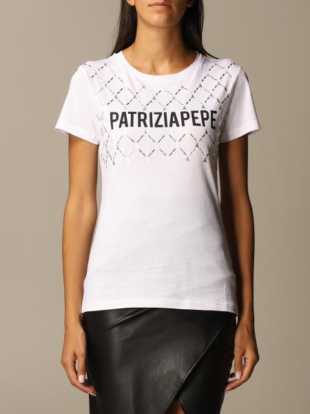 Patrizia Pepe: T-shirt Patrizia Pepe in cotone con logo