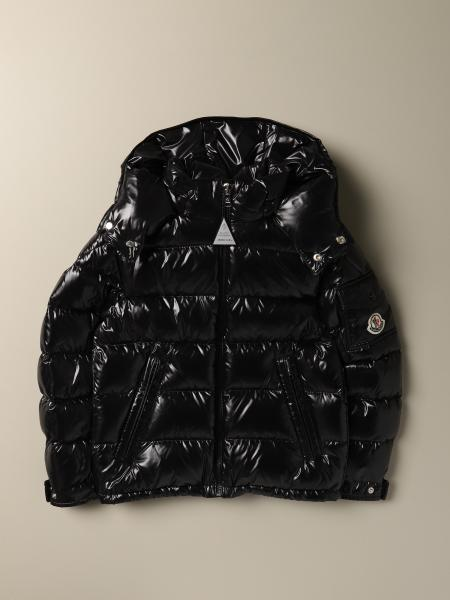 Piumino New maya Moncler in nylon lucido