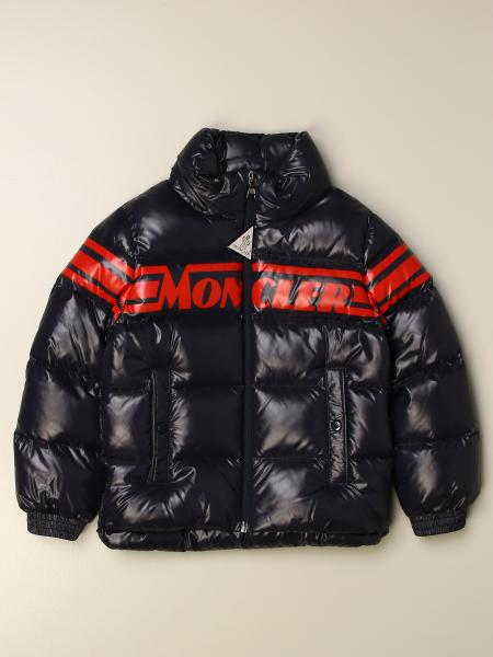 Moncler Saise down jacket in padded and shiny nylon