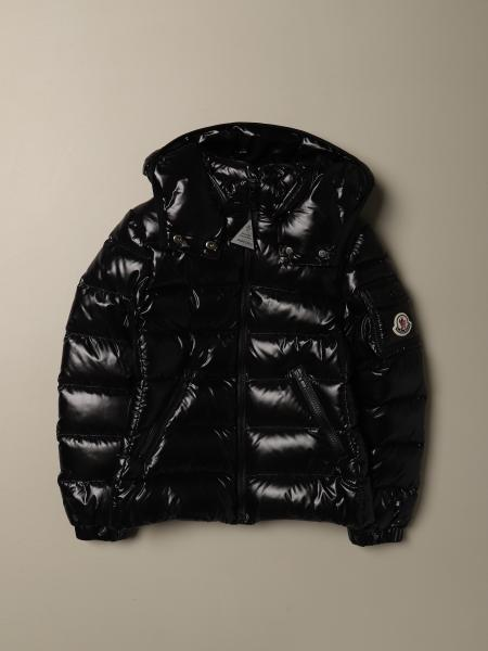 Bady shiny down jacket with detachable hood