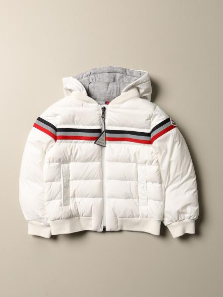 Perd Moncler bomber down jacket in padded nylon with hood