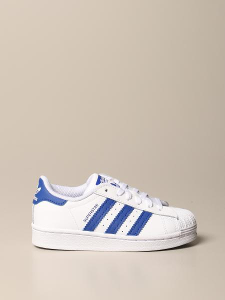 Sneakers Superstar C Adidas Originals in pelle