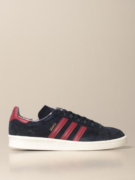 Adidas: Sneakers Campus Adidas Originals in camoscio