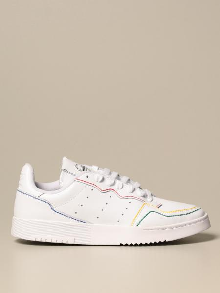 Adidas: Sneakers Supercourt Adidas Originals in pelle