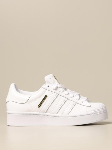 Adidas: Sneakers Superstar Bold W Adidas Originals in pelle