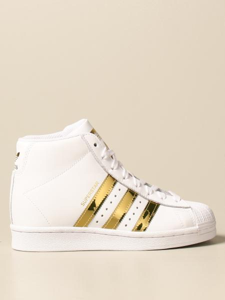 Adidas: Sneakers Superstar Up Adidas Originals in pelle