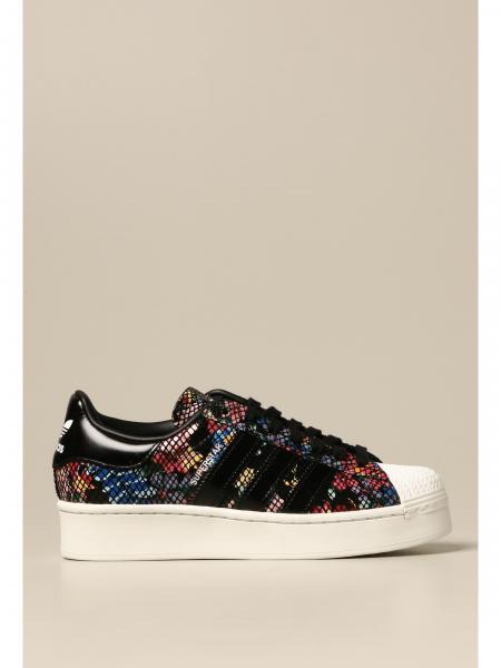 Adidas: Sneakers Superstar Bold W Adidas Originals in pelle multicolor