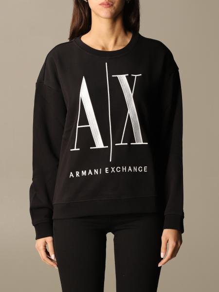 Sweatshirt damen Armani Exchange