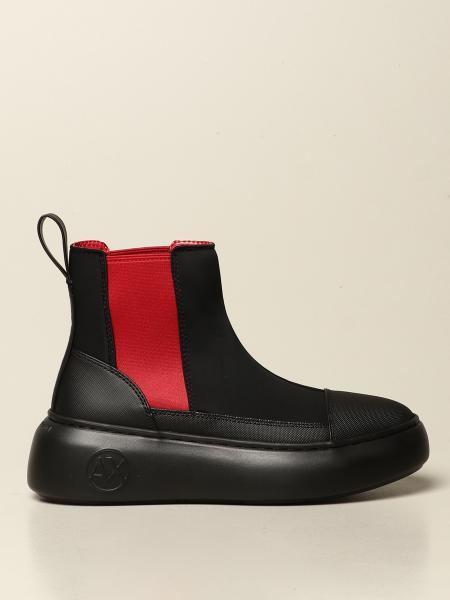 Armani Exchange scuba boots