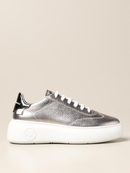 Sneakers Armani Exchange in pelle martellata