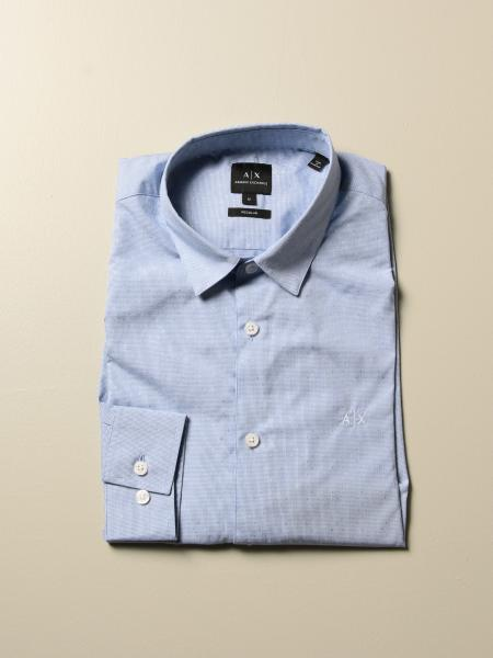 Camicia Armani Exchange con collo italiano