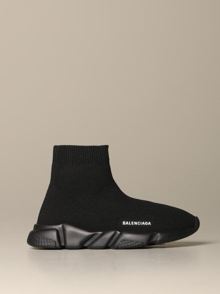Balenciaga Speed sock sneakers with single-color sole