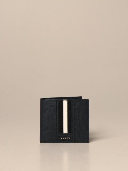 Trasai.Lt Bally wallet in leather with trainspotting band