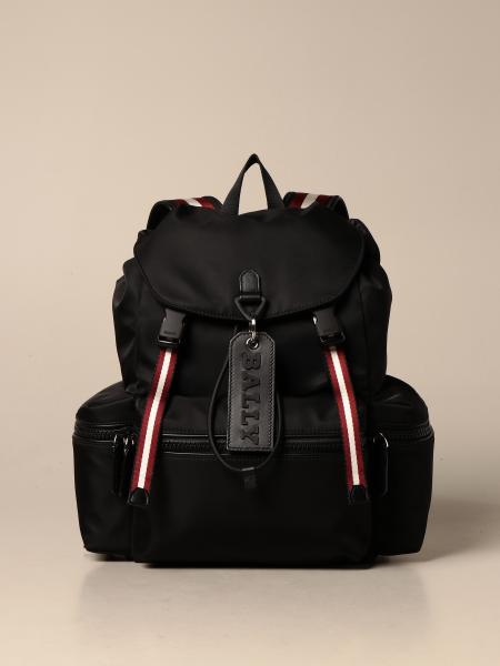 Crew Bally backpack in nylon with trainspotting band