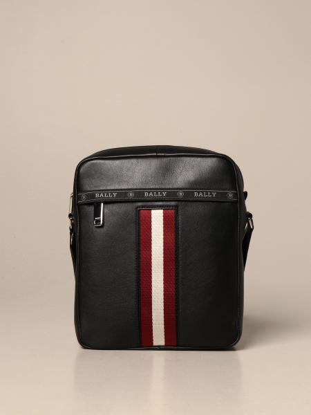 Borsello Holm Bally in pelle con fascia trainspotting