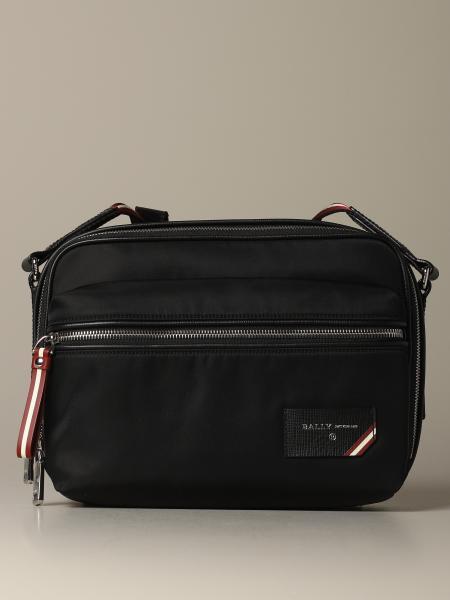 Figj shoulder bag Bally in nylon with trainspotting shoulder strap