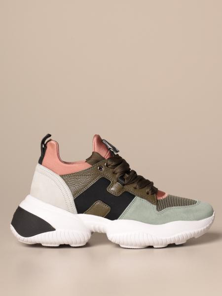Interaction Hogan sneakers in leather and suede