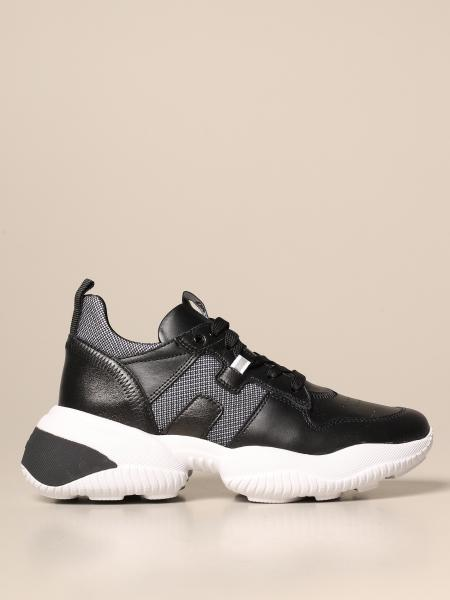 Interaction Hogan sneakers in leather and mesh