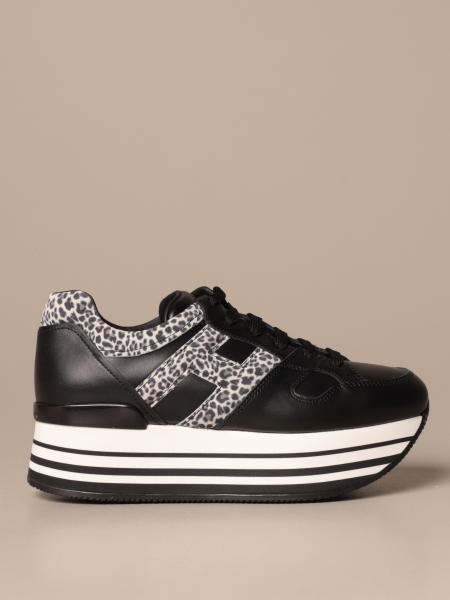 Maxiplatform H283 Hogan sneakers in leather
