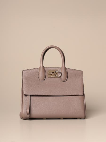 Salvatore Ferragamo Studio bag in textured leather