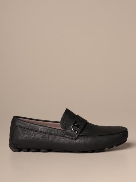Rasca Salvatore Ferragamo loafer in leather with initials