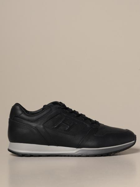 H321 Hogan sneakers in leather with H flock