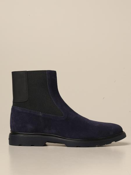 H393 Hogan Chelsea boot in suede