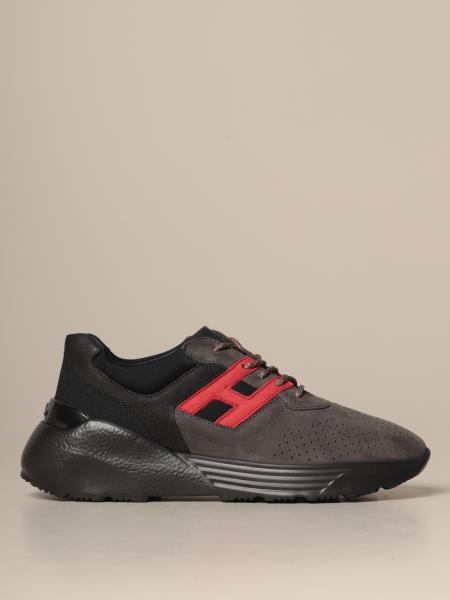 Active One Hogan bicolor suede sneakers