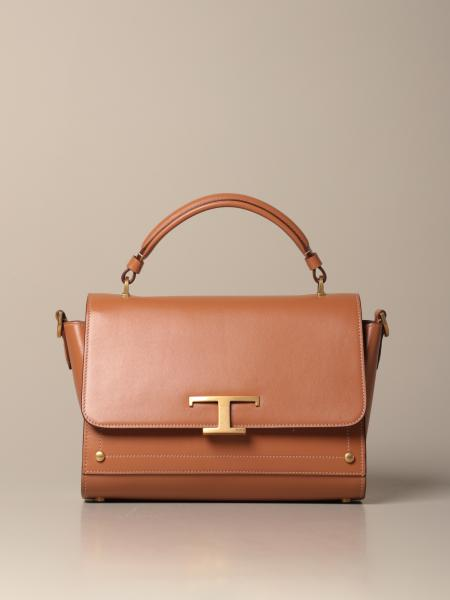 Tod's Timeless bag in leather with logo