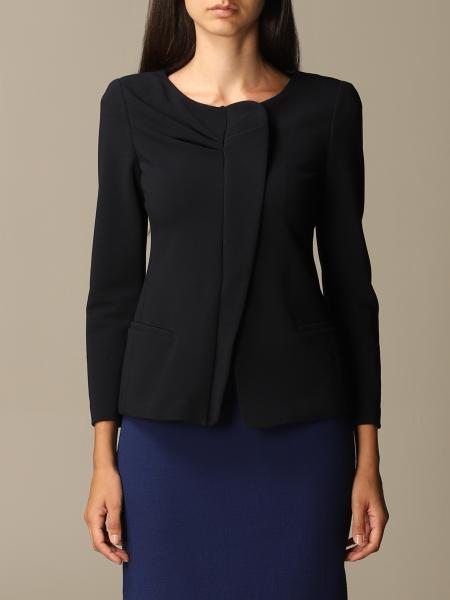 Emporio Armani asymmetric jacket