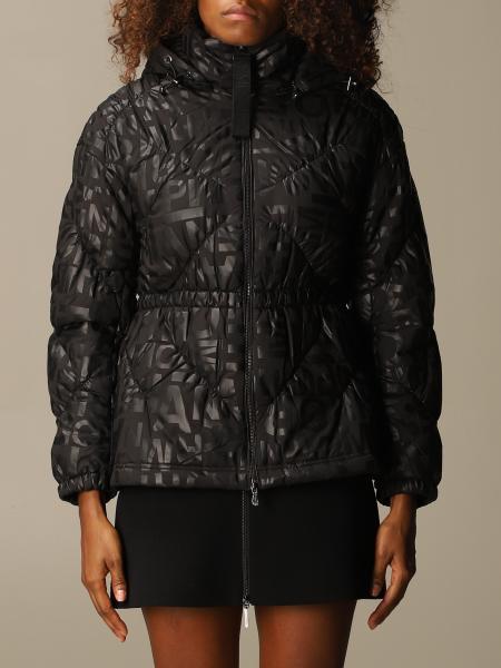 Emporio Armani down jacket in logoed nylon