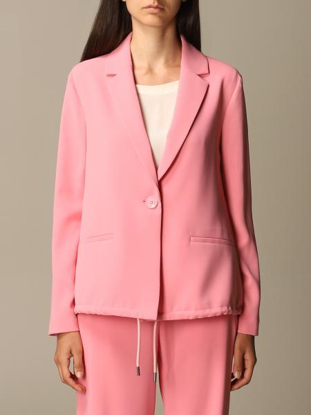 Emporio Armani single-breasted fluid jacket
