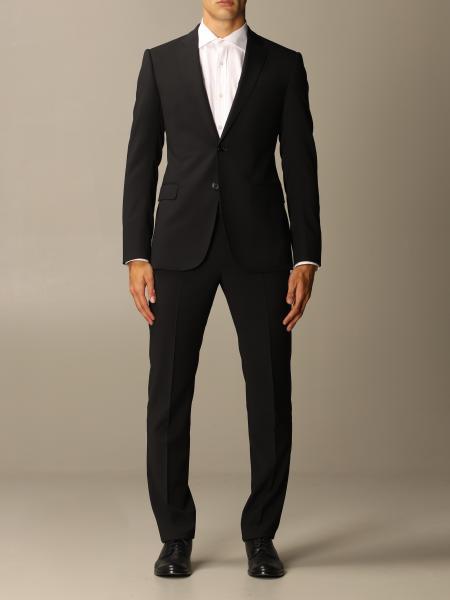 Emporio Armani single-breasted suit in virgin wool 222 gr drop 7