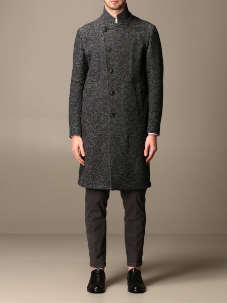 Emporio Armani coat in virgin wool