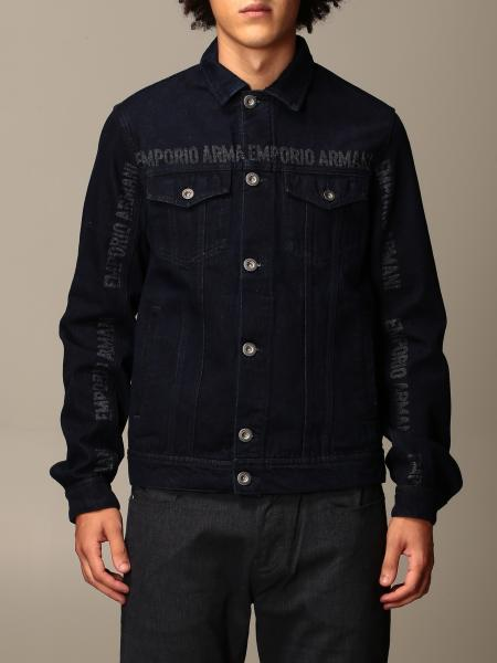 Emporio Armani denim jacket with logo