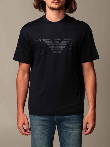 T-shirt Emporio Armani in misto cotone con logo