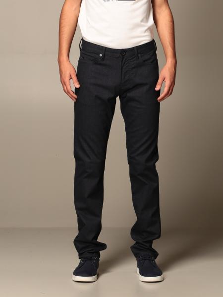 Pantalone Emporio Armani in misto cotone slim fit