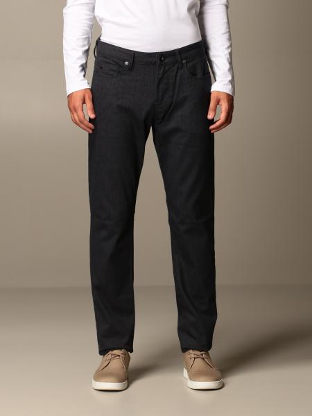 Emporio Armani slim fit trousers