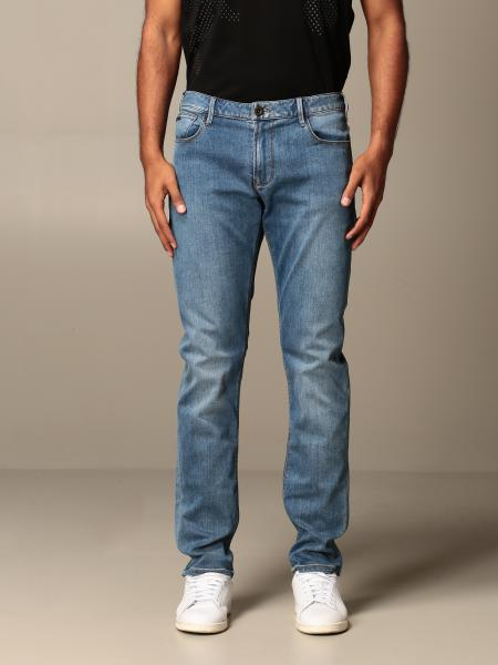 Jeans Emporio Armani in denim used