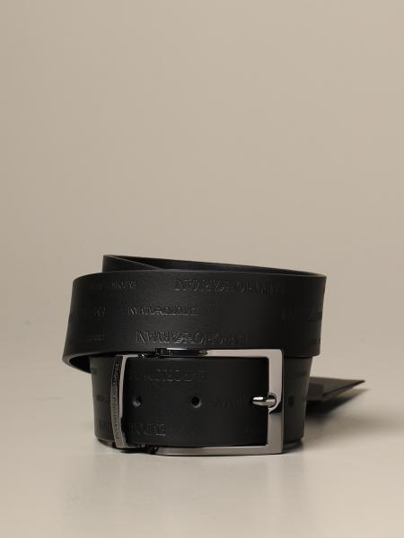 Cintura reversibile Emporio Armani in vitello