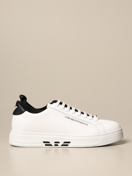 Emporio Armani sneakers in leather