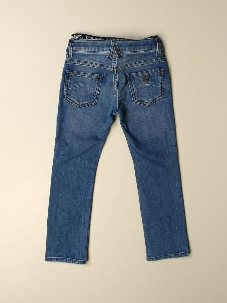 Denim used slim stretch con elastico vita