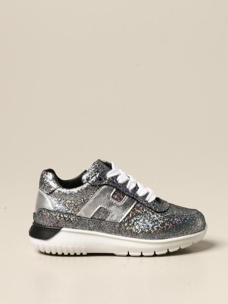Cube Hogan Baby sneakers in laminated leather