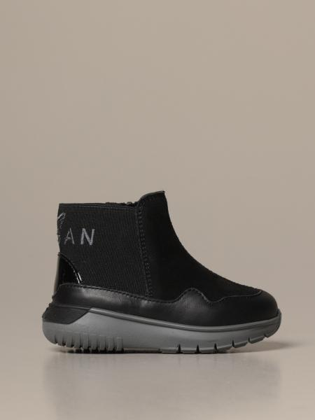 Chelsea Interactive3 Hogan sneakers in suede and leather