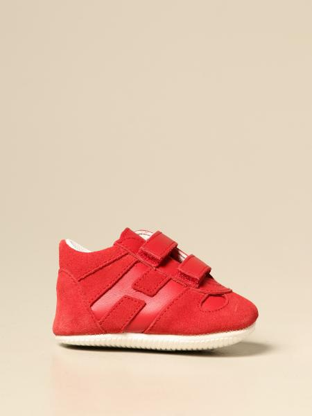 Olimpia Hogan sneakers in suede and leather