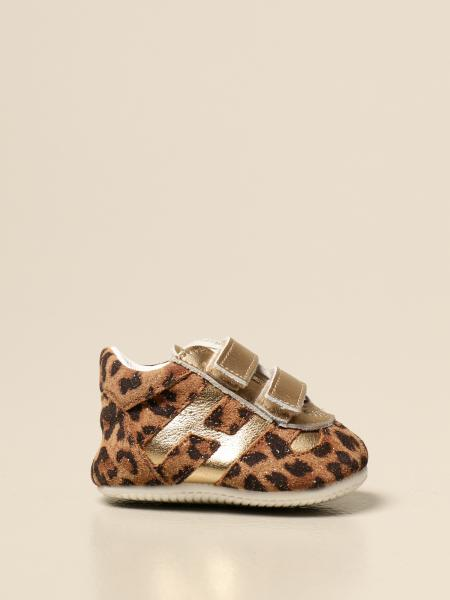 Hogan: Sneakers Olimpia Hogan in camoscio animalier