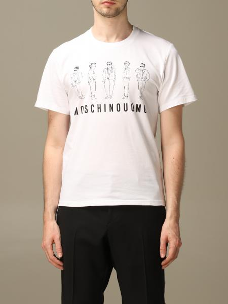 Moschino Couture t-shirt with Moschino Man logo